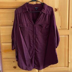 Torrid 3/4 Sleeve Shirt